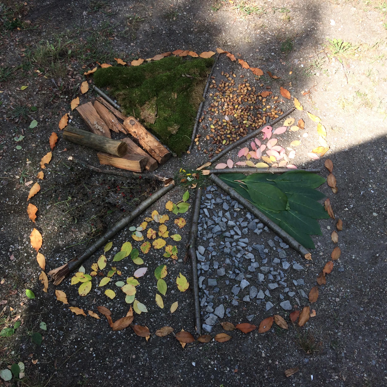wib herbst jahreszeitentisch igel mandala 8 ⋆ wheelymum